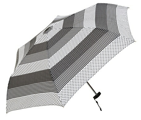 ウォーターフロントWaterfront【折りたたみ傘】レディース折傘ポケフラットマルチパターン【色指定不可】[50cm]