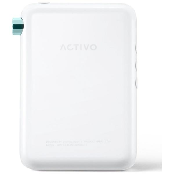 ACTIVOアクティボデジタルオーディオプレーヤークールホワイトACTIVO-CT10-WHT[16GB/ハイレゾ対応][ACTIVOCT10WHT]