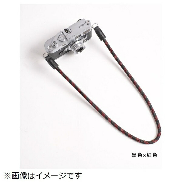 cam-inカムインカメラストラップDCS005203黒/赤[DCS005203]