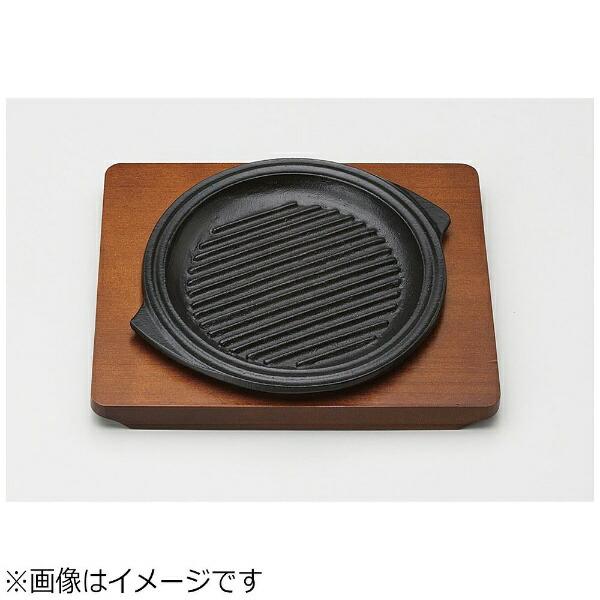 三和精機製作所《IH対応》ステーキ皿グリル丸19cm<PGLD602>[PGLD602]