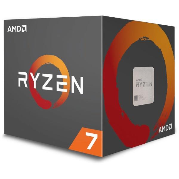 AMDエーエムディー〔CPU〕AMDRyzen72700withWraithSpire(LED)coolerYD2700BBAFBOX[YD2700BBAFBOX]