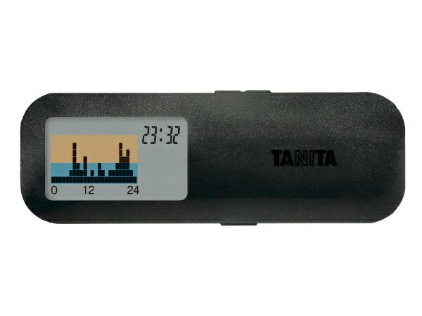 タニタTANITAAM-122活動量計カロリズムslimブラック[AM122BK]