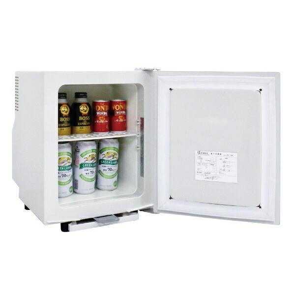 ジーマックスZ-MAX冷蔵庫ペルナイスホワイトZER-18[1ドア/右開きタイプ/18L][冷蔵庫一人暮らし小型新生活ZER18]