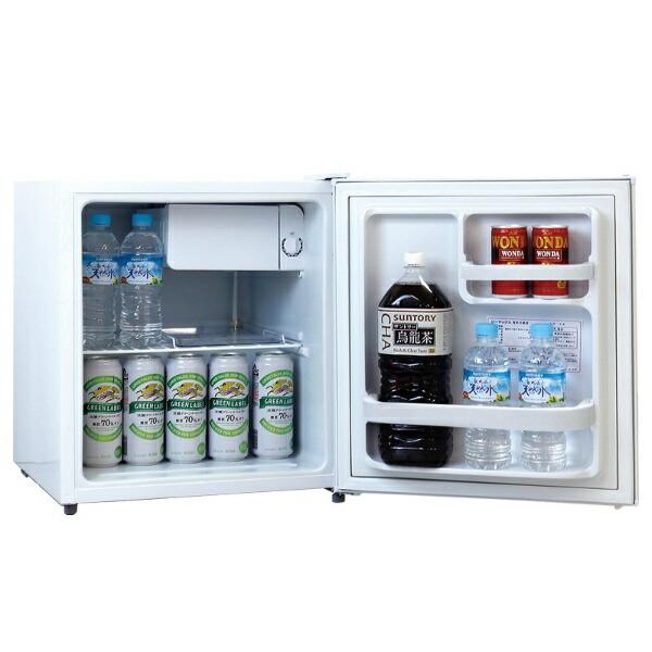 ジーマックスZ-MAX冷蔵庫ペルナイスホワイトZR-48R[1ドア/右開きタイプ/48L][冷蔵庫一人暮らし小型新生活ZR48R]