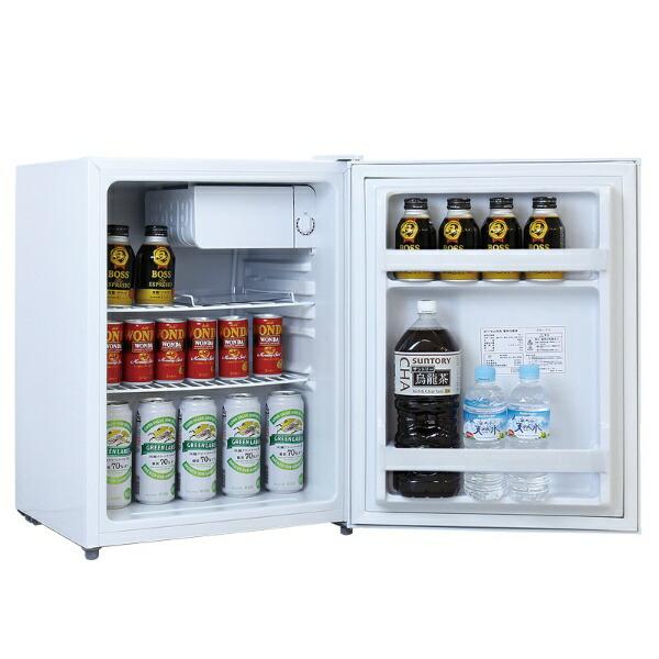 ジーマックスZ-MAX冷蔵庫ペルナイスホワイトZR-70[1ドア/右開きタイプ/70L][冷蔵庫一人暮らし小型新生活ZR70]