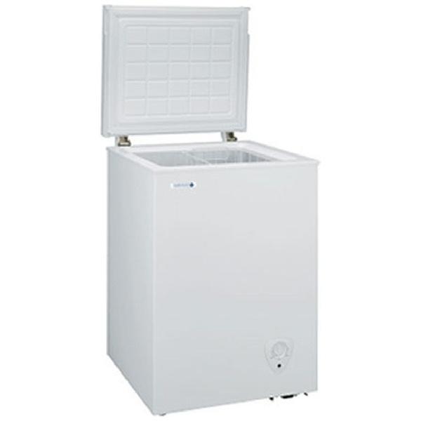GE日本ゼネラル《基本設置料金セット》JH94CR冷凍庫ホワイト[1ドア/上開き/94L][JH94CR]