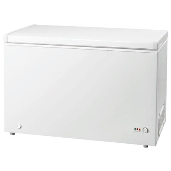 グラソン《基本設置料金セット》GLF-300W冷凍庫ホワイト[1ドア/上開き/300L][GLF300W]