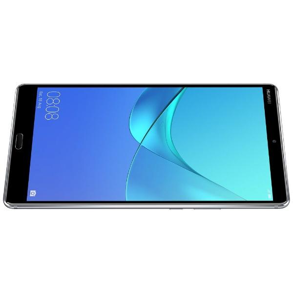 HUAWEIファーウェイSHT-W09AndroidタブレットMediaPadM5スペースグレー[8.4型/ストレージ:32GB/Wi-Fiモデル][タブレット本体8.4インチM58SHTW09WIFIGR]