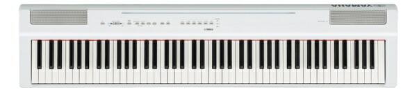 ヤマハYAMAHAP-125WH電子ピアノPシリーズホワイト[88鍵盤][P125WH]