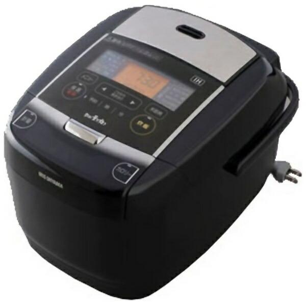 アイリスオーヤマIRISOHYAMAKRC-IC50-B炊飯器銘柄量り炊きブラック[5.5合/IH][KRCIC50]
