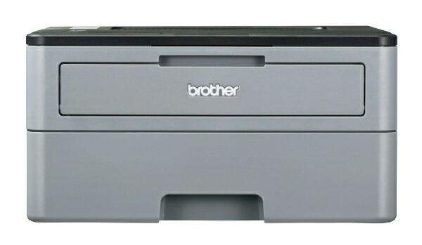 ブラザーbrotherHL-L2330DモノクロレーザープリンターJUSTIO(ジャスティオ)グレー[はがき〜A4][HLL2330D]【プリンタ】