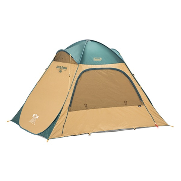 コールマンColemanピクニックシェードクイックアップIGシェード(グリーン×ベージュ)2000033131【2〜3人用】[テント]