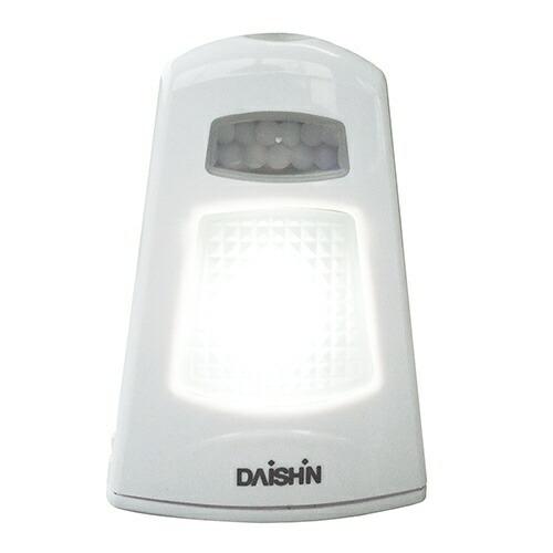 大進DAISHIN乾電池式ミニセンサーライト振動感知付センサーライトDLB-M100S