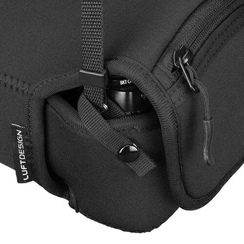 ハクバHAKUBAルフトデザインスリムフィットカメラジャケットS−90ブラックDCS-03S90BKブラック