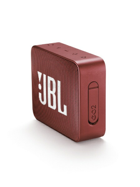 JBLジェイビーエルブルートゥーススピーカーJBLGO2REDレッド[Bluetooth対応/防水][JBLGO2RED]