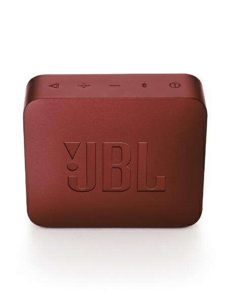 JBLJBLGO2REDブルートゥーススピーカーレッド[Bluetooth対応/防水][JBLGO2RED]