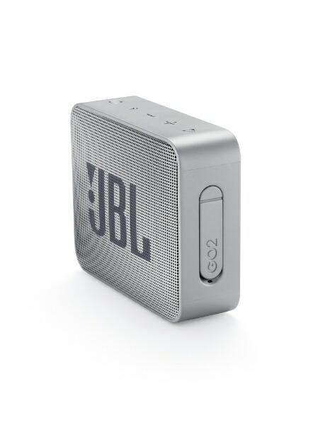 JBLジェイビーエルJBLGO2GRYブルートゥーススピーカーグレー[Bluetooth対応/防水][スピーカーbluetooth高音質JBLGO2GRY]