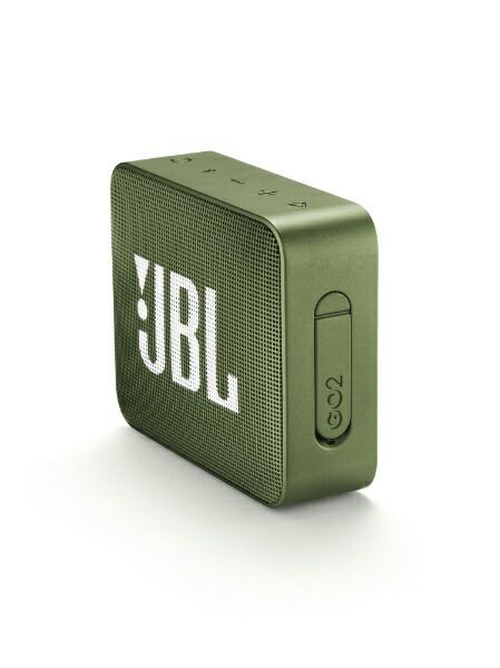 JBLジェイビーエルブルートゥーススピーカーJBLGO2GRNグリーン[Bluetooth対応/防水][スピーカーbluetooth高音質JBLGO2GRN]