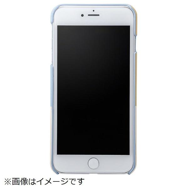 坂本ラヂヲiPhone8Plus/7Plus用NudyLeatherCaseLimitedCLC2206PLBLBlue