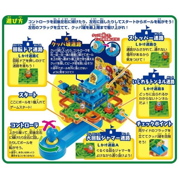 エポック社EPOCHスーパーマリオ大迷路ゲームDXピーチ姫と5つの迷宮!