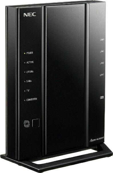 NECエヌイーシー無線LANルーター(Wi-Fiルーター)親機単体[無線11ac/n/a/g/b・有線LANAndroid/iOS/Mac/Win]1733+800MbpsAtermWG2600HP3PA-WG2600HP3[無線LANルーターPAWG2600HP3]