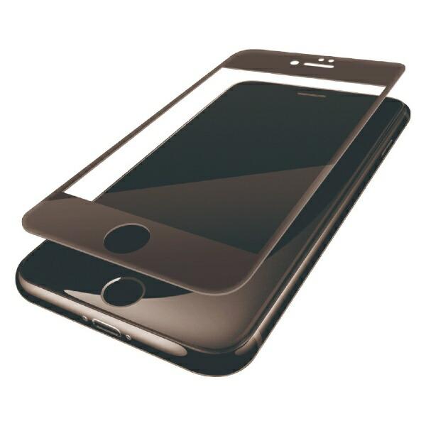 エレコムELECOMiPhone8(4.7)フィルムフルカバー衝撃吸収防指紋光沢