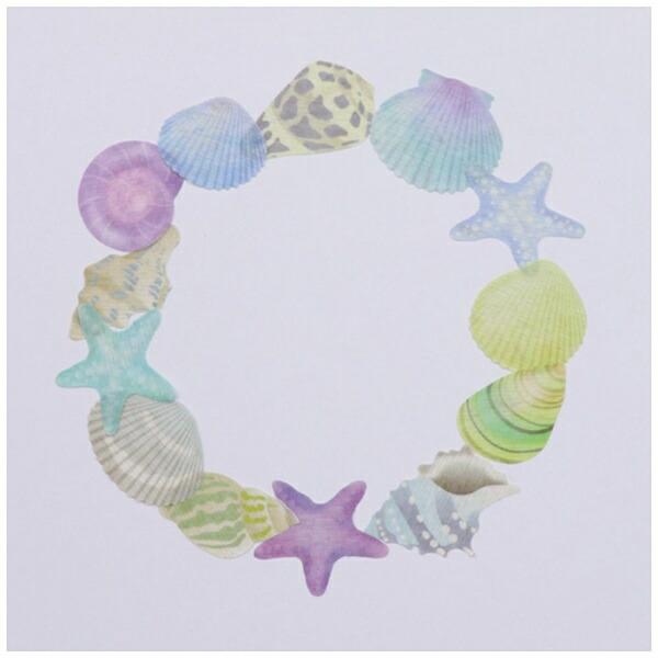 バンデbandeマスキングロールステッカー貝殻ブルーBDA289