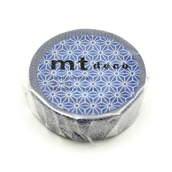 カモ井加工紙KAMOIMT01D424麻の葉・紺瑠璃(こんるり)MT01D424