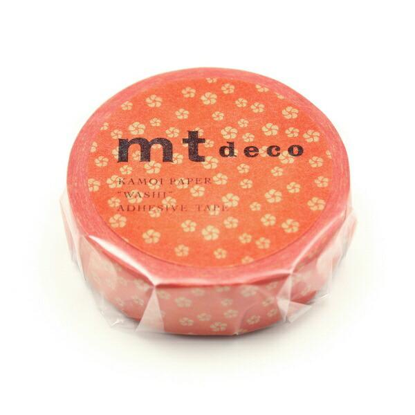 カモ井加工紙KAMOIMT01D429ねじり梅・赤橙(あかだいだい)MT01D429