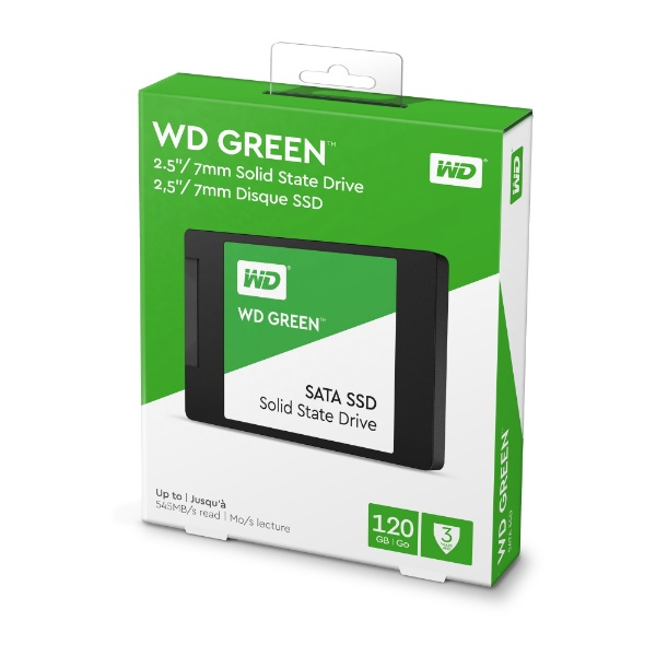 WESTERNDIGITALウェスタンデジタルWDS120G2G0A内蔵SSD[2.5インチ/120GB]【バルク品】