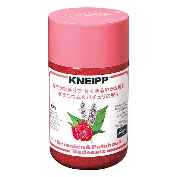 クナイプジャパンKneippJapanKNEIPP(クナイプ)ゼラニウム&パチュリ(850g)[入浴剤]