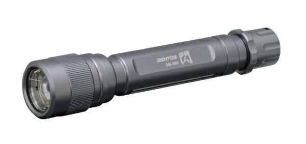 ジェントスGENTOS懐中電灯閃SG-400[LED/単3乾電池×2/防水]