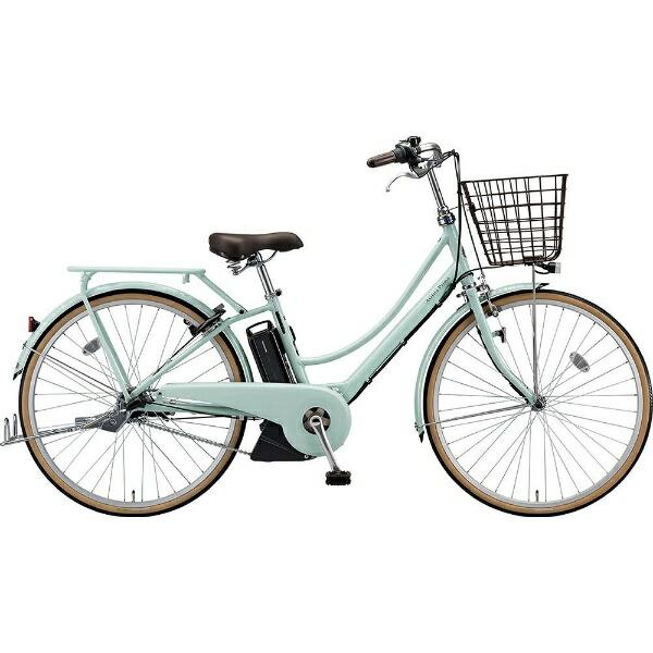ブリヂストンBRIDGESTONE26型電動アシスト自転車アシスタプリマ(E.Xグレイッシュミント/内装3段変速)A6PC18【2019年モデル】【組立商品につき返品不可】【代金引換配送不可】