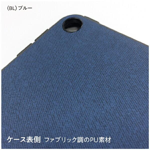 ナカバヤシNakabayashiiPad9.7inch(2018)用背面保護ケースTBC-IPP1800BKブルー