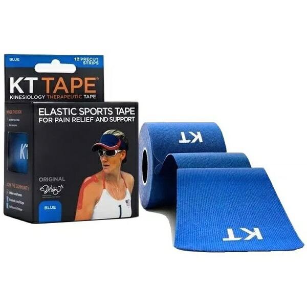 KTTAPEケーティーテープキネシオロジーテープKTTAPECOTTONロールタイプ(ブルー/テープサイズ:5cm×25cm・12枚入り)KTC980BL