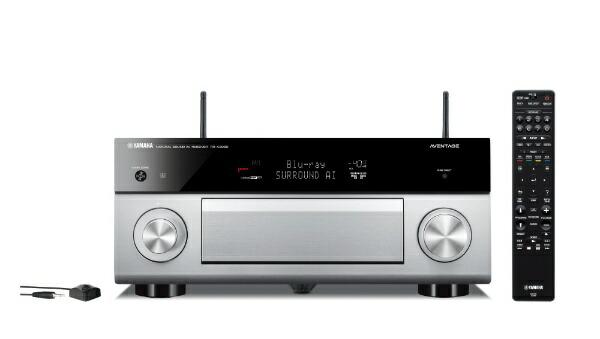 ヤマハYAMAHARX-A2080HAVアンプAVENTAGEチタン[ハイレゾ対応/Bluetooth対応/Wi-Fi対応/ワイドFM対応/7.1.2ch/DolbyAtmos対応][RXA2080H]