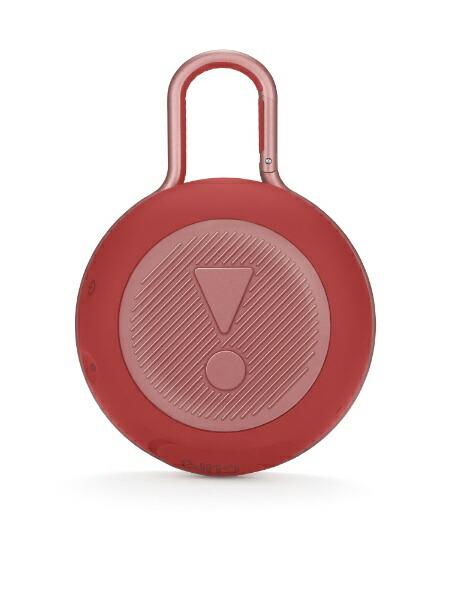 JBLジェイビーエルブルートゥーススピーカーJBLCLIP3REDレッド[Bluetooth対応/防水][JBLCLIP3RED]