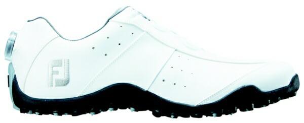 フットジョイFootJoy25.0cm/靴幅:3EメンズスパイクレスゴルフシューズEXLSpikelessBoa(White)#45180