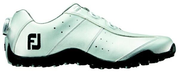 フットジョイFootJoy24.5cm/靴幅:3EメンズスパイクレスゴルフシューズEXLSpikelessBoa(Silver)#45182