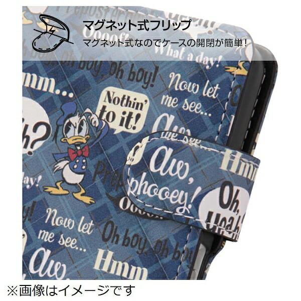 イングレムIngremdocomoarrowsNXF-01K手帳型ケースミッキーマウス14IN-DARK1MLC2/MK014