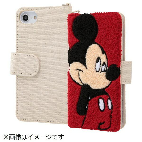 イングレムIngremiPhoneSE(第2世代)4.7インチ/iPhone8/7/6s/6(4.7)サガラ刺繍手帳型ケースIN-DP7S6SGR1/MK