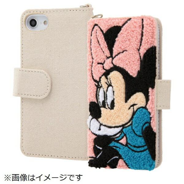 イングレムIngremiPhoneSE(第2世代)4.7インチ/iPhone8/7/6s/6(4.7)サガラ刺繍手帳型ケースIN-DP7S6SGR1/MN