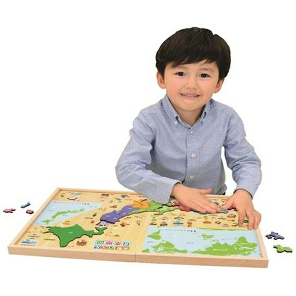 学研ステイフルGakkenSta:Full学研の遊びながらよくわかる木製パズル日本地図
