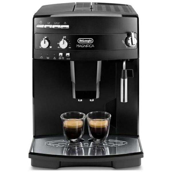デロンギDelonghiESAM03110コーヒーメーカーMAGNIFICA(マグニフィカ)ブラック[全自動/ミル付き][ESAM03110B]