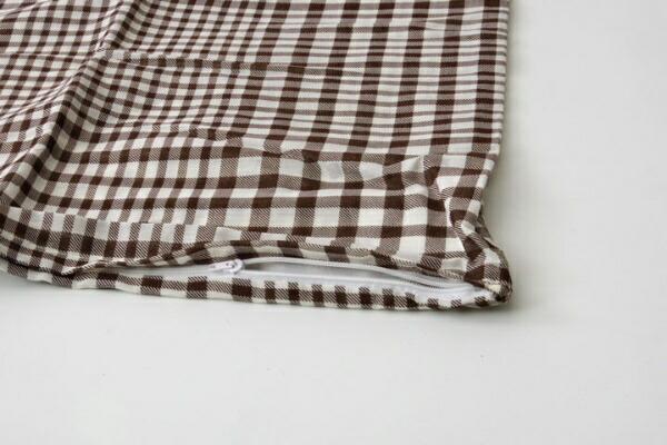 イケヒコIKEHIKO【まくらカバー】サプリ標準サイズ(43×63cm/ブラウン)