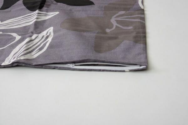 イケヒコIKEHIKO【まくらカバー】シェリー標準サイズ(43×63cm/グレー)