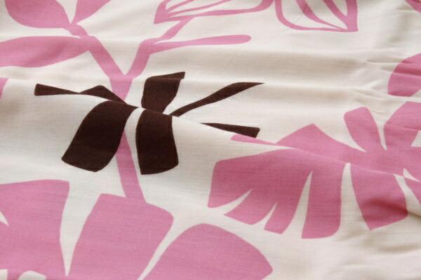 イケヒコIKEHIKO【掛ふとんカバー】ルイードダブルサイズ(190×210cm/ピンク)