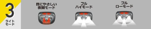 エナジャイザーEnergizerHDL315BKヘッドライトVISION(ヴィジョン)ブラック[LED/単4乾電池×3/防水]