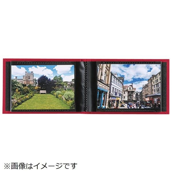 セキセイSEKISEIハーパーハウスレミニッセンスミニポケットアルバム高透明L判40枚収容XP-5540レッド