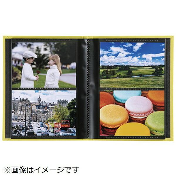 セキセイSEKISEIハーパーハウスレミニッセンスミニポケットアルバム高透明L判80枚収容XP-5580ネイビーブルー